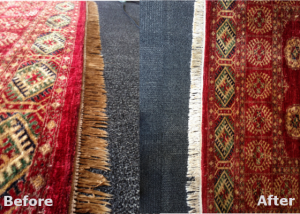 Area Rug Cleaning – Before & After