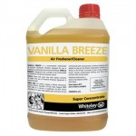 Whiteley Vanilla Breeze cleaning supplies